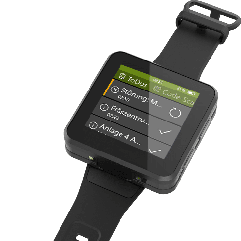aucobo industrie smartwatch