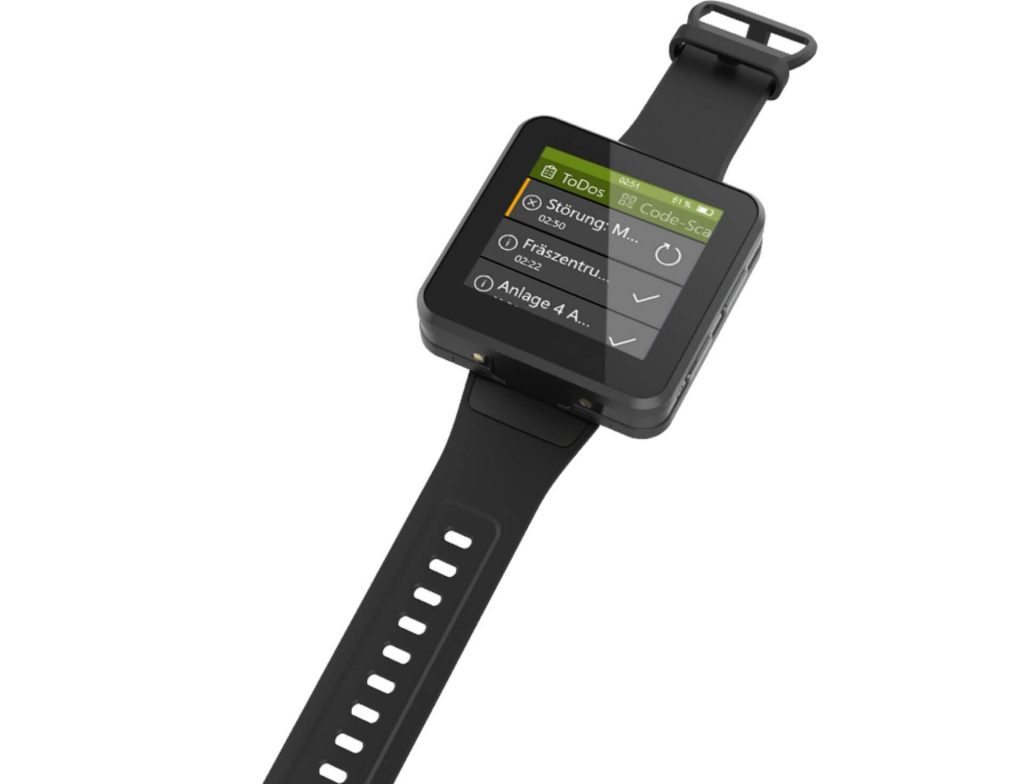 aucobo Smartwatch for manufacturing